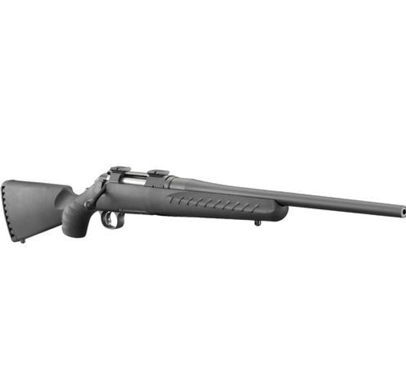 "Ruger American 7mm-08 22"" Barrel Black Synthetic Stock RH"