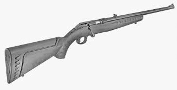 "Ruger American 17HMR 22"" Synthetic 9rd"