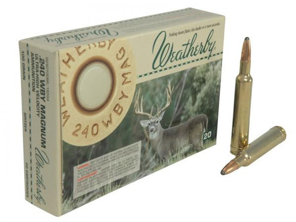 Weatherby Rifle Ammunition