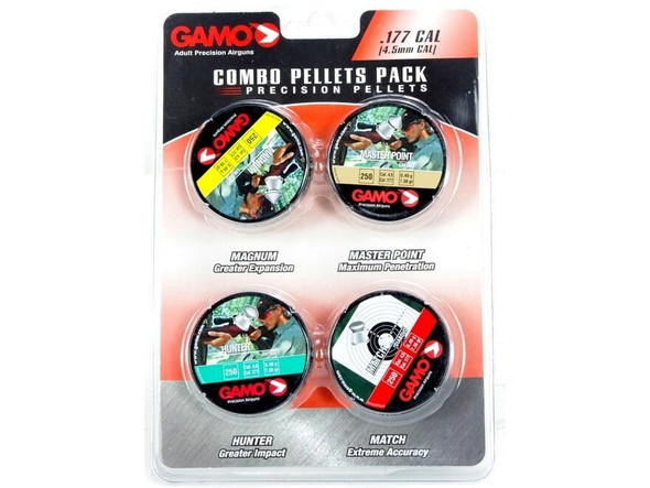 Gamo .177 Combo Pellet Pack
