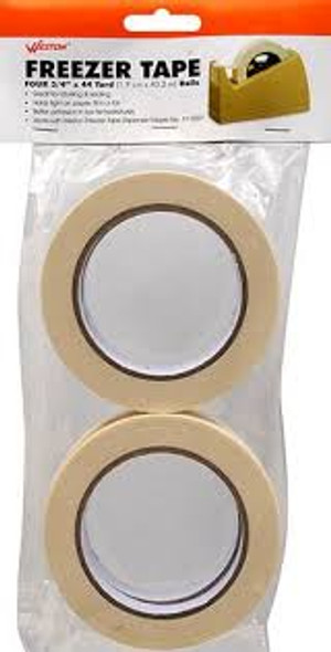 "Weston Freezer Tape 3/4""x44yd 4pk"