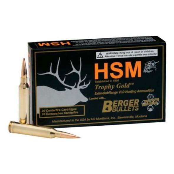 HSM Ammunition Berger Bullet