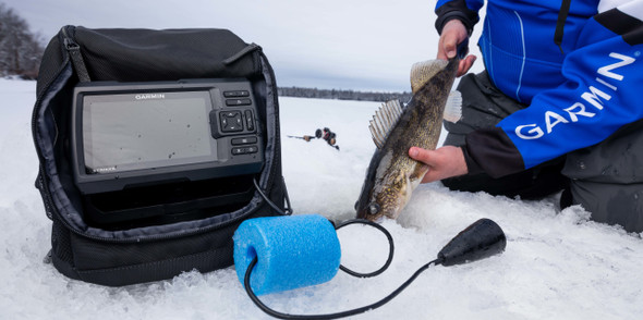 Garmin Striker Plus 5 Portable Ice Bundle New Release