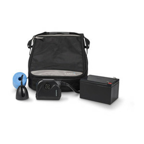 Garmin Panoptics Ice Fishing Kit c/w Bag & PS22/GT10