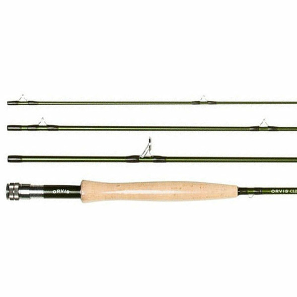 "Orvis Clearwater Rod 9'0"" 6wt 4pc c/w Tube"