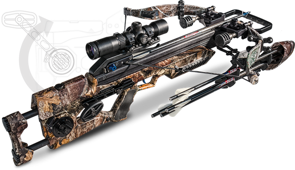 Excalibur Assassin 360 Real Tree Edge Camo Pkg