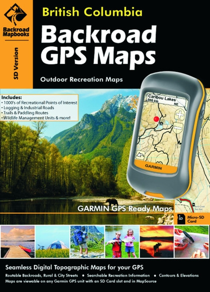 Backroad GPS Map BC
