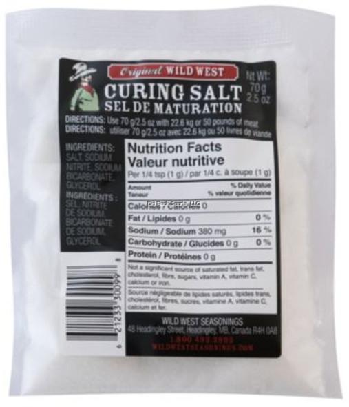 Wild West Curing Salt 70gr
