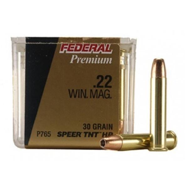 Federal 22 WMR 30gr TNT Box 50 1880fps