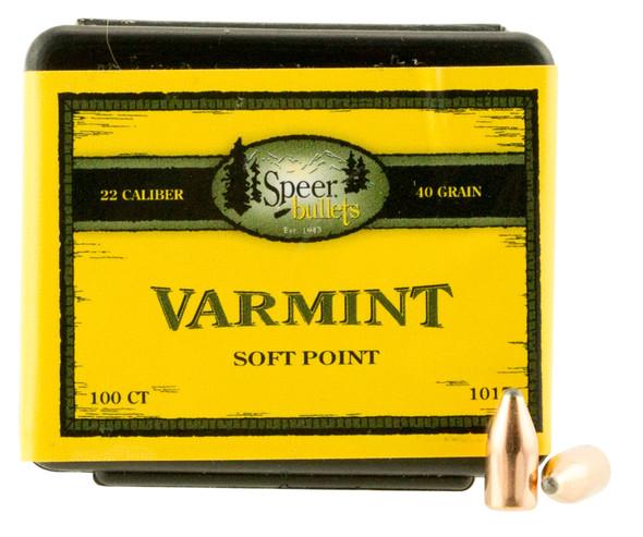 Speer Varmint Bullets