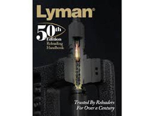 Lyman Reloading Handbook 50 Edition Soft Cover