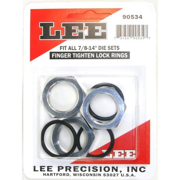Lee Die Lock Rings 3pk