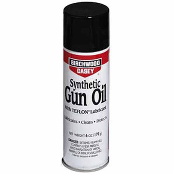 Birchwood Casey Synthetic Gun Oil Spray 283g