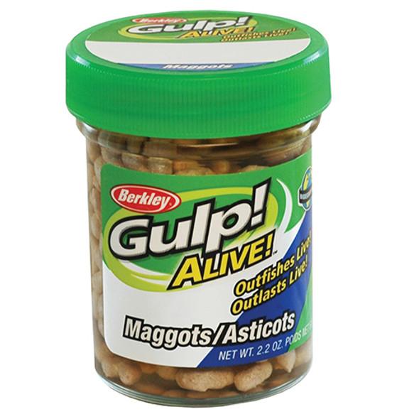 Berkley Gulp Alive Maggots White