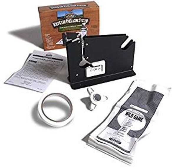 Eastman Wildgame Packaging System Tape Dispenser, Tape, Bags