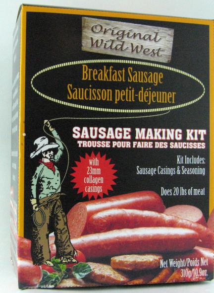 Wild West Breakfast Sausage Making Kit