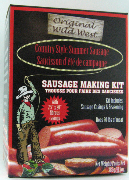 Wild West Countrystyle Summer Sausage Making Kit