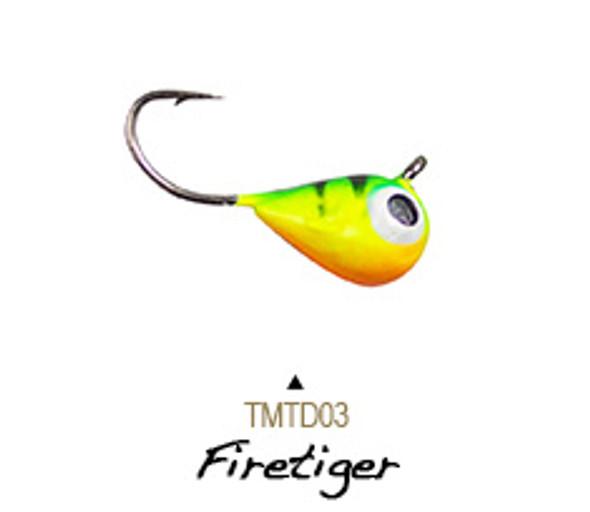 Lunkerhunt Tungsten Micro Tear Drop Jig 1/8oz #8
