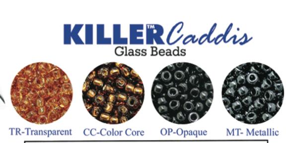 Wapsi Killer Caddis Glass Beads Small