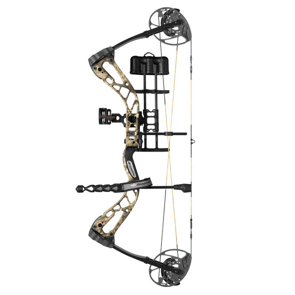 Diamond Edge 320 RH 7-70 Lb Breakup Camo Compound Bow