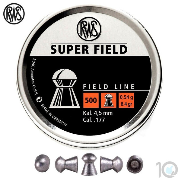RWS 177 Super Field Pellets Box 500