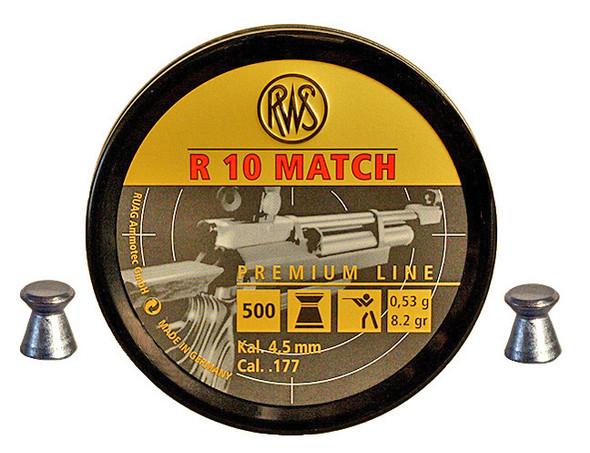 RWS 177 R10 Match 53g Pellets Box 500