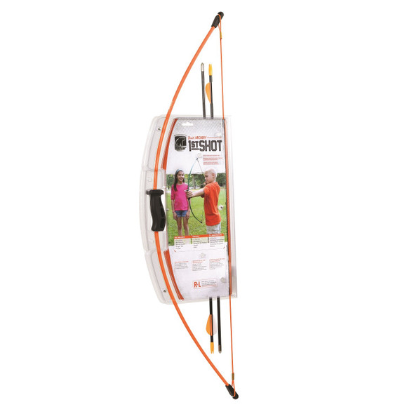 Bear Archery First Shot Bow Set RH Fluorescent Orange