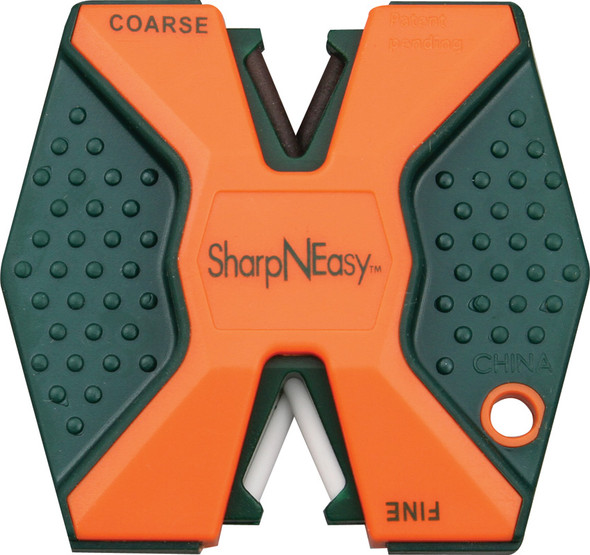 Accusharp Sharp N Easy Orange Knife Sharpener 2 Step