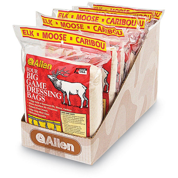 "Allen Game Bags 4 Pack 12""x48"" 1/4 Bags"