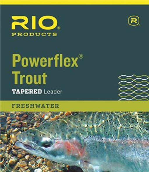 Rio Powerflex Tapered Leader 9'