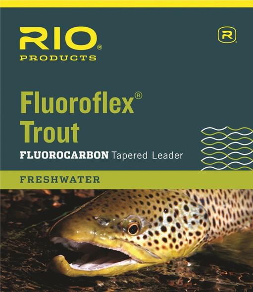 Rio Fluoroflex Tapered Leader 9'
