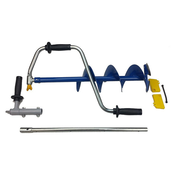 """Ht Nero 8"""" Ice Auger Folding C/w Drill Adapter"""