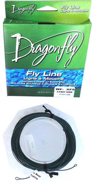 Dragonfly Fly Line Weight Forward Type 5 Sinking