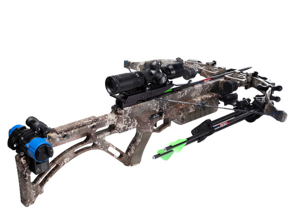Excalibur Micro Suppressor True Timber Strata Camo With Crank