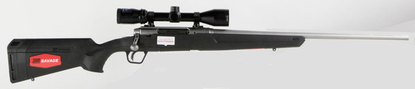 Savage Axis II XP 270 Stainless Steel c/w Bushnell Scope