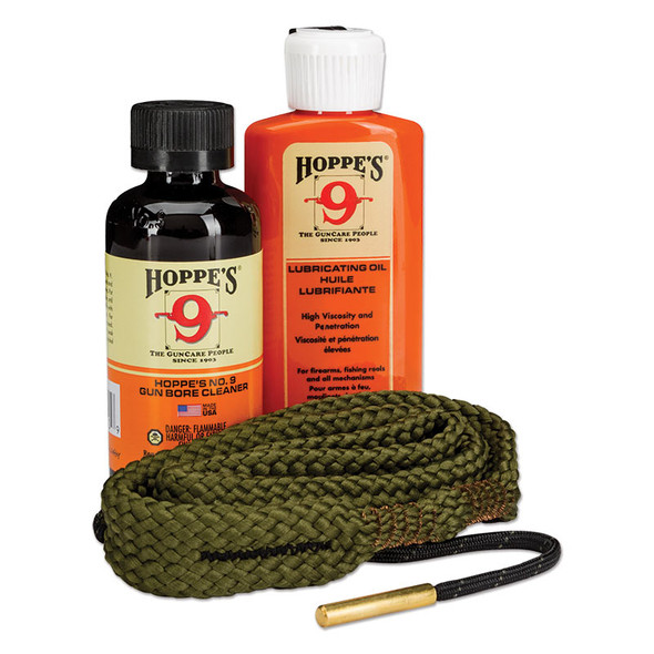 Hoppes 1,2,3, Done Kit 30 Cal c/w Bore Cleaner, Lubricating Oil & Bore Snake