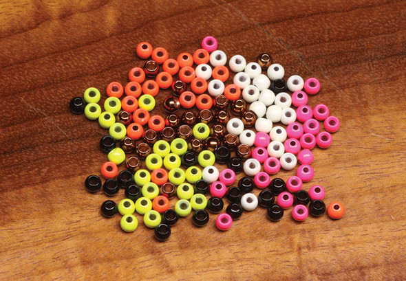 Hareline Dazzle Brass Beads 1/8