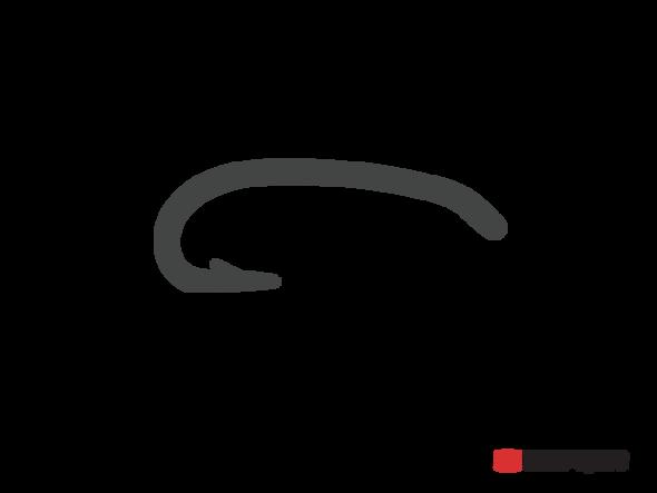 Umpqua Hook Curved Nymph Down Eye U204