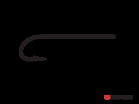 Tiemco Hook Streamer Straight Eye 9394