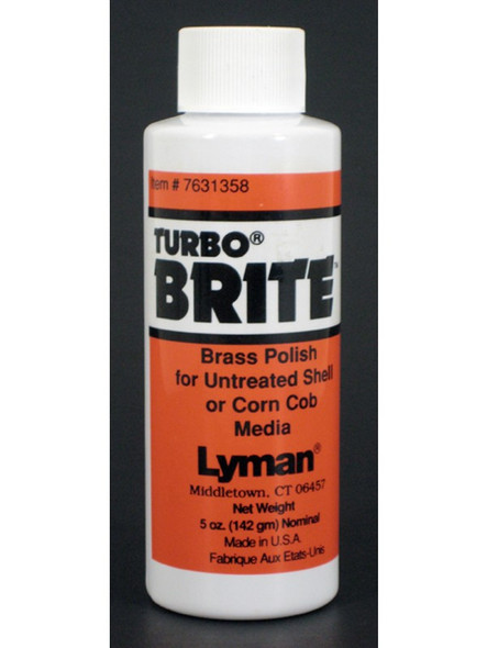 Lyman Turbo Brite Brass Polish 5oz