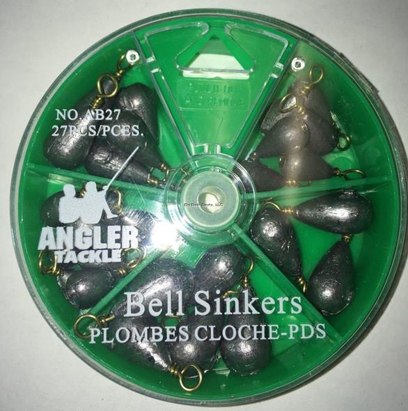 Angler Bell Sinker Pack AB27