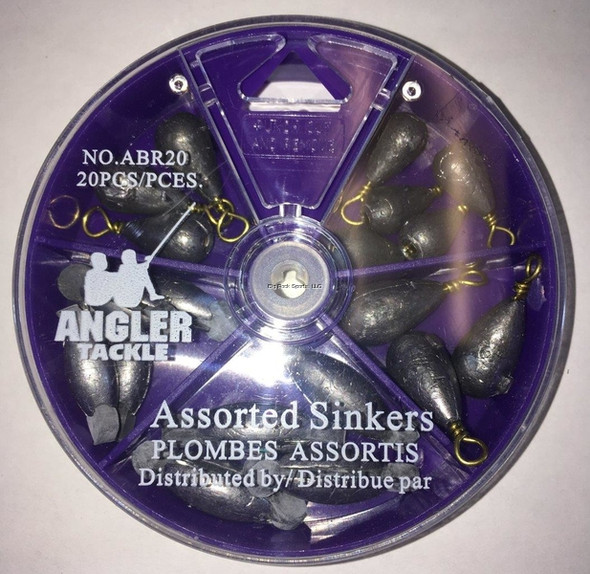 Angler Dial A Sinker Rubber Center & Bell Kit ABR20