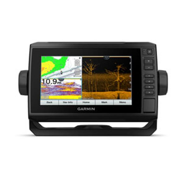Garmin Echomap UHD 75CV c/w GT24UHD-TM Transducer & Canada LakeVu G3 & Bluechart G3