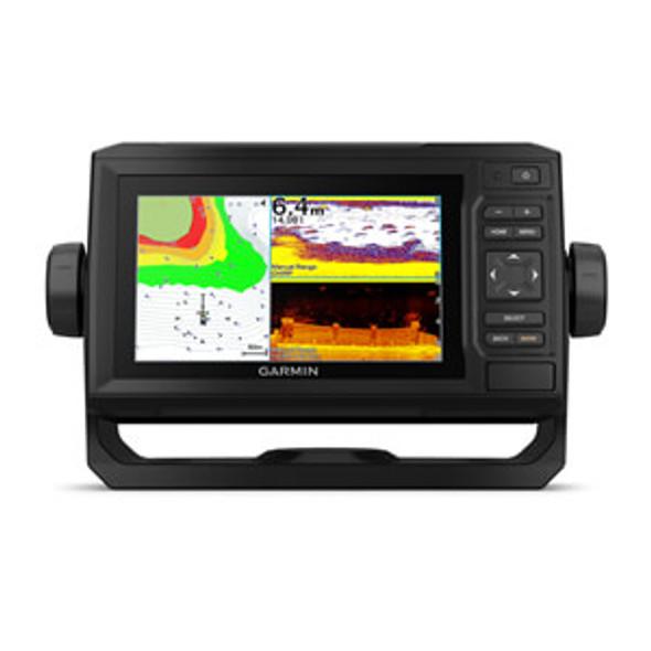 Garmin Echomap UHD 65CV c/w GT24UHD-TM Transducer & Canada LakeVu G3 & Bluechart G3