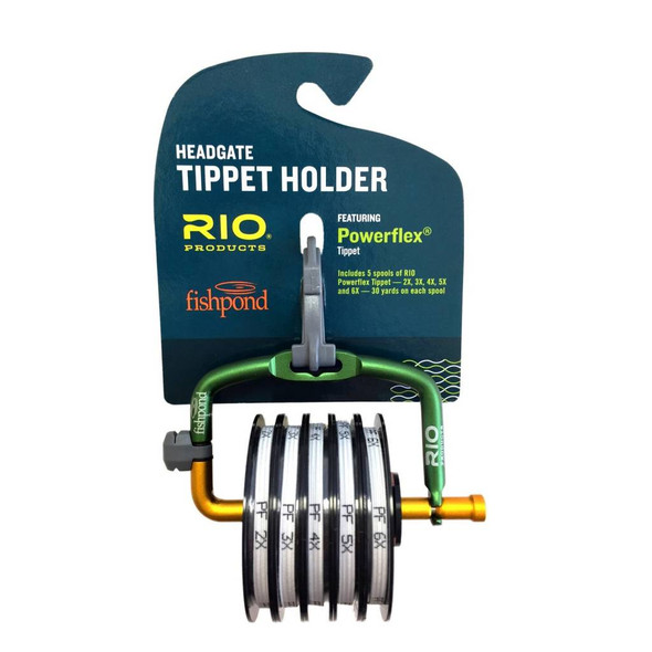 Rio Headgate Powerflex Tippet Set c/w 2x,3x,4x,5x,6x