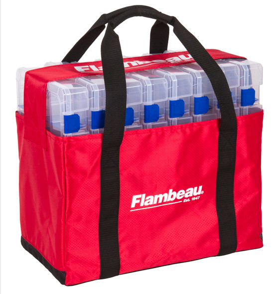 Flambeau Loaded Tuff Tainer Tackle Box c/w 8 #5000 Containers