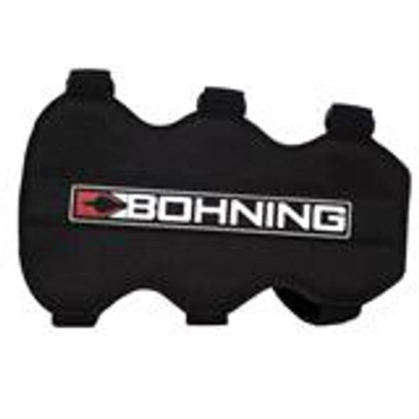 Bohning Arm Guard 3 Strap Black