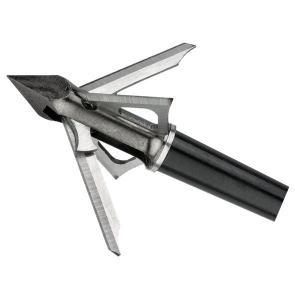 Muzzy Trocar HBX Crossbow Broadhead 100gr 4 Blade 3 Pack