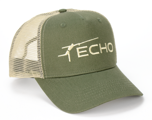 Echo Hat Olive/Tan Mesh