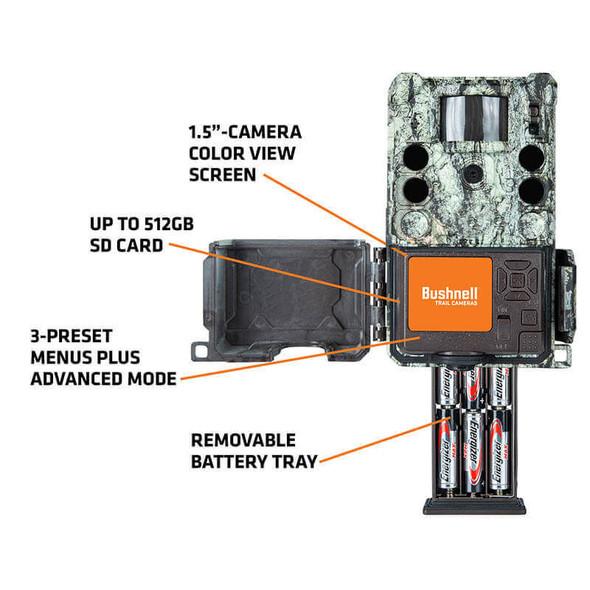 Bushnell Core S-4K No Glow Trail Camera